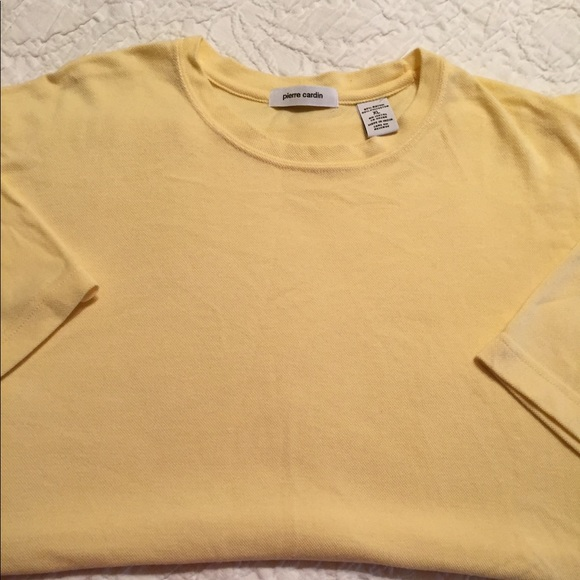 Pierre Cardin Other - Pierre Cardin, ⬇️ XL, Yellow Pique Shirt, GUC, $4